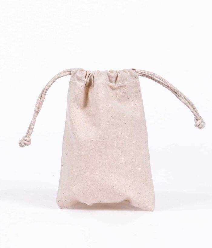 mini drawstring bag - Doodle Bag - Personalised Cotton Tote Bags