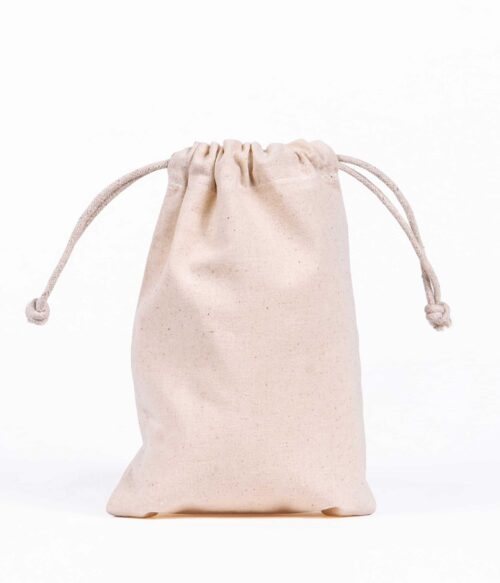 Small Drawstring Bag - Doodle Bag - Personalised Cotton Tote Bags
