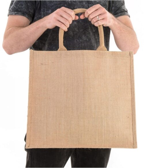 large jute bag - Doodle Bag - Personalised Cotton Tote Bags