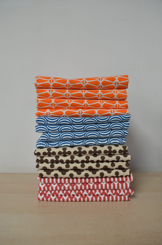 Geometric style Tea towels - Doodle Bag