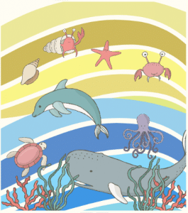 Under the sea design from Doodle Bag