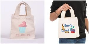 Personalised Cotton Lunch bag