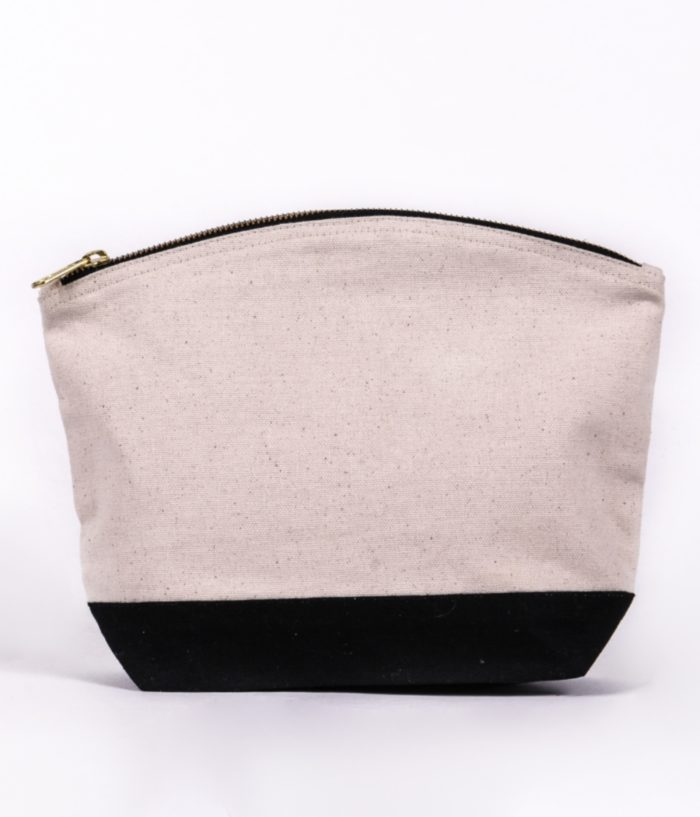 contrast wash bag