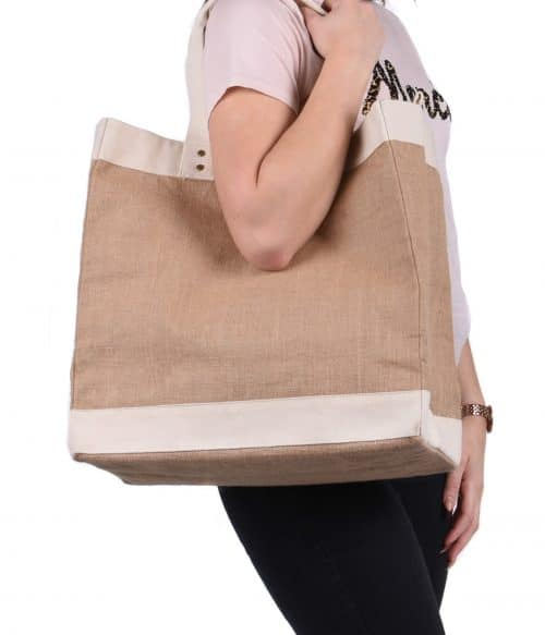 Large Premium Jute Shopper
