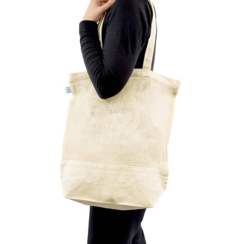 Luxury Mesh Shopper