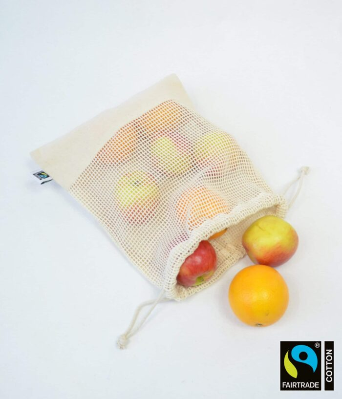 Small mesh Drawstring bag