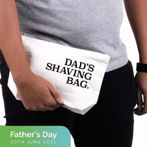 Dad's shaving bag