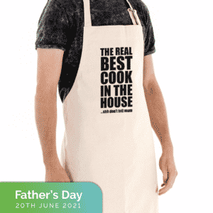 apron for father's day