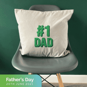 cushion for fathers day